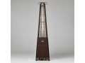 REALGLOW 13KW Pyramid Flame Patio Heater