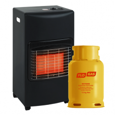 Glow Warm Portable Gas Cabinet Heater Package