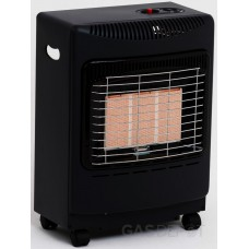 Lifestyle Mini Heatforce Black Radiant Cabinet Heater
